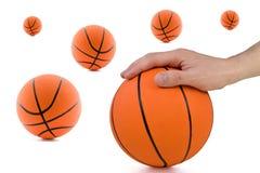 abstrakt basket Royaltyfri Foto
