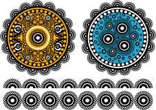 abstrakt begrepp vektor illustrationer