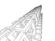 abstrakt begrepp 3d Royaltyfri Bild