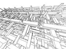 abstrakt begrepp 3d Arkivfoton