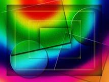abstrakt begrepp stock illustrationer