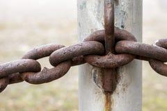Abstrakt begrepp av chain sammanlänkningar Royaltyfri Bild