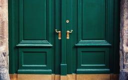 Abstrakt begrepp av dörrar Royaltyfri Fotografi