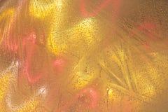 Abstrakt begrepp av färger i tunn is arkivfoton