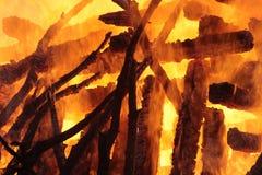 Abstrakt begrepp av flamman Royaltyfri Foto