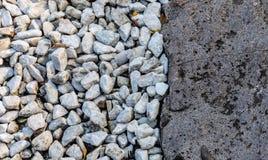 Abstrakt begrepp av kiselstenar och stenen royaltyfria foton