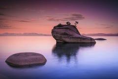 Abstrakt begrepp av Lake Tahoe Arkivfoto