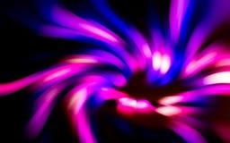 Abstrakt begrepp av ljus rörelse Arkivfoton