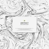 Abstrakt begrepp av svartvit bakgrund för marmor Modernt mode för ny design i detaljer av konst royaltyfri illustrationer