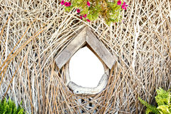Abstrakt begrepp av trädfilialen med den mellersta ramen för foto Royaltyfria Bilder