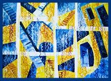 Abstrakt begrepp av trappa och sicksackar 2 Royaltyfria Bilder