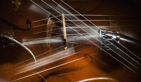 Abstrakt begrepp av violoncelldetaljer arkivbild