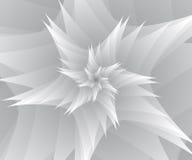 Abstrakt begrepp av vita stjärnor Arkivfoto