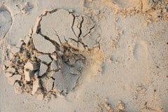 Abstrakt begrepp bakgrund för sandtexturabstrakt begrepp Sandig strand för bakgrund Arkivbild