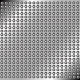 Abstrakt begrepp belägger med metall bakgrund med rivets Royaltyfri Foto