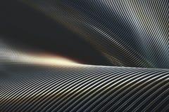 Abstrakt begrepp belägger med metall krom Royaltyfri Bild