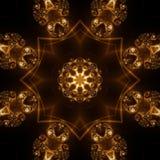 abstrakt begrepp bildar lampa Arkivbild