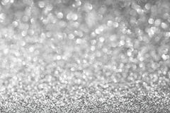 Abstrakt begrepp blänker silverbakgrund Arkivbild