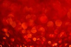 Abstrakt begrepp blinkade ljus bakgrund med defocused ljus för bokeh Royaltyfria Bilder
