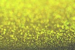 Abstrakt begrepp blinkade ljus bakgrund med defocused ljus för bokeh Royaltyfria Foton