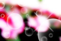 Abstrakt begrepp bubblar bakgrund Vektor Illustrationer