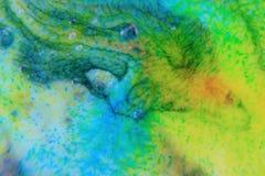 Abstrakt begrepp bubblar makro Arkivfoto