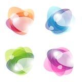 abstrakt begrepp bubbles färgrikt