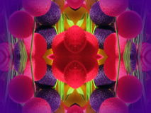 abstrakt begrepp bubbles färgrikt Fotografering för Bildbyråer