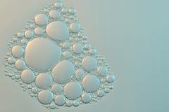abstrakt begrepp bubbles vatten Royaltyfri Bild