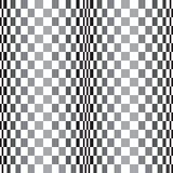 Abstrakt begrepp buktad modell för rastervektorbakgrund , i en svartvit palett Royaltyfri Bild