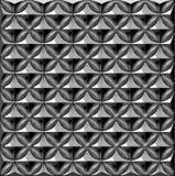 Abstrakt begrepp chromed bakgrundsillustration Royaltyfri Fotografi
