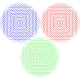 abstrakt begrepp cirklar diagrammet Royaltyfri Fotografi