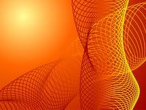 abstrakt begrepp cirklar fractal Arkivfoto