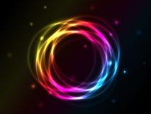 abstrakt begrepp cirklar vektorn Vektor Illustrationer