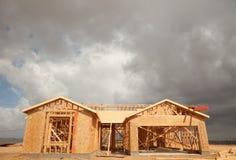 abstrakt begrepp clouds den home illavarslande lokalen för konstruktion Arkivfoton
