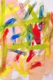 abstrakt begrepp colors grafittiväggen Royaltyfri Bild