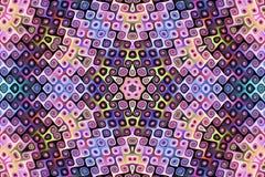 abstrakt begrepp colours fractal09p Royaltyfri Bild