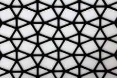 Abstrakt begrepp dekorerad modellträvägg royaltyfri bild