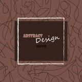 Abstrakt begrepp-design Arkivfoton