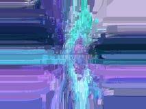 Abstrakt begrepp diagram färgrikt kulört färger royaltyfri illustrationer