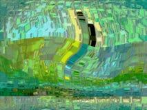 Abstrakt begrepp diagram färgrikt kulört färger Arkivfoton