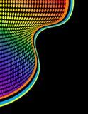 abstrakt begrepp dots regnbågen Arkivfoton