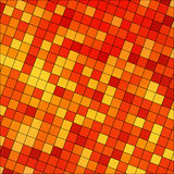 Abstrakt begrepp färgad fyrkantig PIXELmosaik Royaltyfria Bilder