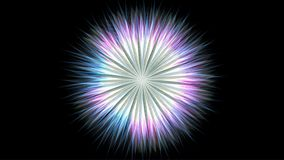 Abstrakt begrepp färgad modell lager videofilmer
