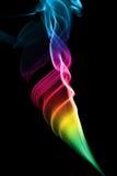 Abstrakt begrepp färgad rök Royaltyfri Foto