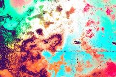 Abstrakt begrepp färgad stilbakgrund Fotografering för Bildbyråer