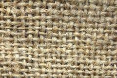Abstrakt begrepp för bakgrund för textur för säckvävsäck - serie 2 Royaltyfri Foto