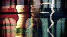 Abstrakt begrepp för dröm- maskin stock video