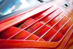 Abstrakt begrepp för Ferrari luftintag royaltyfria bilder