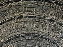 Abstrakt begrepp för modellen för stålmetallplattan texturerar bakgrund Royaltyfria Foton